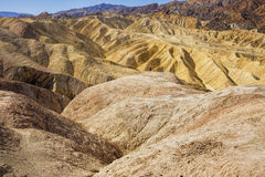 Zabriskie Point, Death Valley National Park stock images