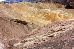 Zabriskie Point, Death Valley Stock Image