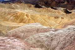 Zabriskie Point, Death Valley Royalty Free Stock Image
