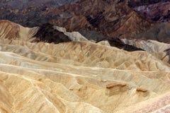 Zabriskie Point, Death Valley Stock Photos