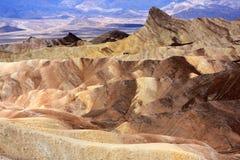 Zabriskie Point, Death Valley Royalty Free Stock Photos