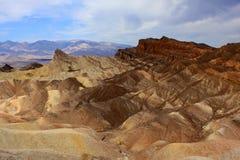 Zabriskie Point, Death Valley Stock Images