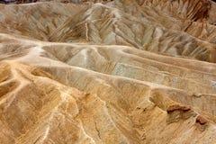 Zabriskie Point, Death Valley Stock Photo