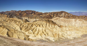 Zabriskie Point, Death Valley National Park Royalty Free Stock Photography