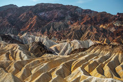 Zabriskie point Stock Photos