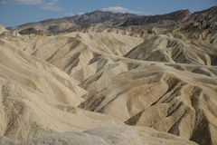 Zabriskie Point, Death Valley National Park, USA Stock Images