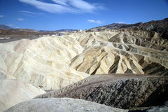 Zabriskie Point, Death Valley National Park, USA, California Stock Photography