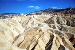 Zabriskie Point, Death Valley National Park, USA, California Stock Images