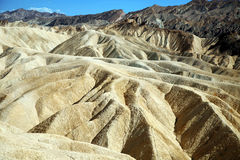 Zabriskie Point, Death Valley National Park, USA, California Royalty Free Stock Photography