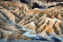 Zabriskie Point in Death Valley National Park Royalty Free Stock Photography