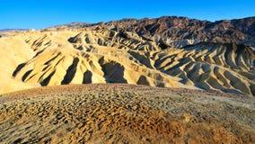Zabriskie Point in Death Valley, Nevada Royalty Free Stock Photos
