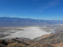 Zabriskie Point in Death Valley. Nevada USA Royalty Free Stock Image