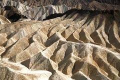 Zabriskie Point, Death Valley, USA Royalty Free Stock Photo