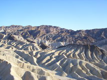 Zabriskie point Stock Image
