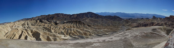 Zabriskie Point, Death Valley, USA Royalty Free Stock Image