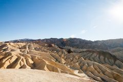 Free Zabriskie Point In Death Valley, California Royalty Free Stock Photography - 140434887