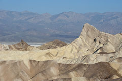 Zabriskie Point landscape Stock Photography
