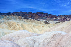 Zabriskie Point National Park Located in Death Valley, Californi Stock Photography