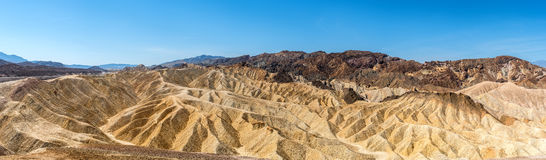 Zabriskie point Royalty Free Stock Photo