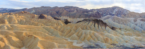 Zabriskie Point Panorama (High Res), Death Valley National Park Stock Photos