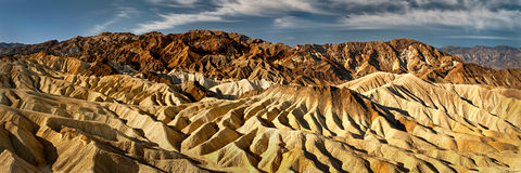Zabriskie Point panorama Stock Photo