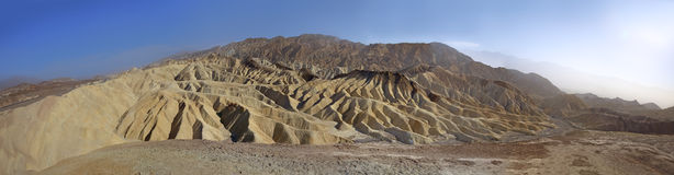 Zabriskie point panorama view Royalty Free Stock Images