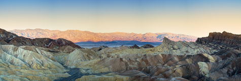 Zabriskie Point Panorana Royalty Free Stock Image
