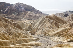Zabriskie point Royalty Free Stock Photos