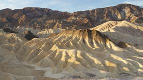 Zabriskie point sunrise Royalty Free Stock Images