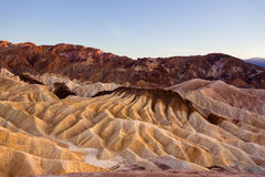 Zabriskie Point Royalty Free Stock Photography