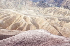Zabriskie Point Wonder Stock Photography