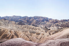 Zabriskie Point Wonder Royalty Free Stock Photo