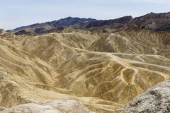 Zabriskie punkt, śmiertelna dolina, California, usa Zdjęcia Royalty Free