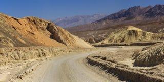 Zabriskie-Punkt bei Death Valley Lizenzfreie Stockbilder