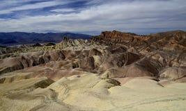 Zabriskie Punkt, Death Valley Lizenzfreies Stockbild
