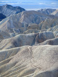 Zabriskie-Punkt, Death Valley, Kalifornien Stockfoto