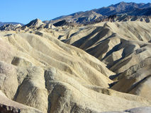 Zabriskie-Punkt, Death Valley, Kalifornien Stockfotografie