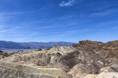 Zabriskie-Punkt, Death Valley, Kalifornien, USA Stockbild