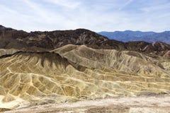 Zabriskie-Punkt, Death Valley, Kalifornien, USA Stockfotografie