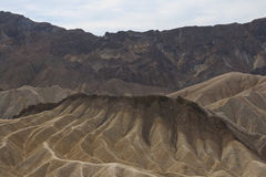 Zabriskie punkt, Death Valley, Kalifornien, USA Royaltyfria Foton