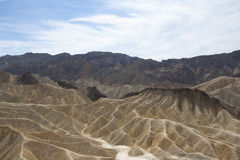Zabriskie punkt, Death Valley, Kalifornien, USA Royaltyfri Foto