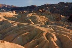 Zabriskie Punkt, Death Valley, USA Lizenzfreie Stockbilder