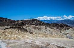 Zabriskie punktu panorama - Śmiertelna dolina Obrazy Royalty Free