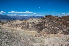 Zabriskie punktu panorama - Śmiertelna dolina Zdjęcie Stock