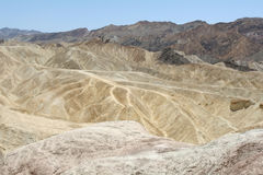 Zabriskie's point Royalty Free Stock Photos