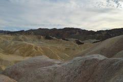 Zabriskie ` s punkt w Śmiertelnym Dolinnym Kalifornia zdjęcie stock