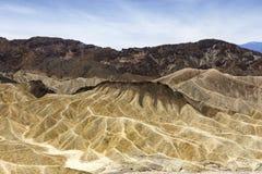 Zabriskiepunt, doodsvallei, Californië, de V.S. Royalty-vrije Stock Foto's