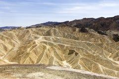 Zabriskiepunt, doodsvallei, Californië, de V.S. Stock Afbeeldingen