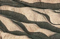 Zabriskiepunt in het Nationale Park van de Doodsvallei in Californië, de V.S. Royalty-vrije Stock Fotografie