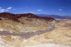 Zabrisky Point, Death Valley, USA. Famous view over Death Valley National Park, USA as seen from Zabrisky Point Royalty Free Stock Images